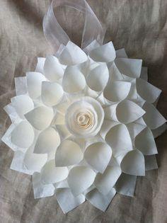 pew decorations for church wedding | Wedding Wreath/Personalized Wreath/Shabby Chic/Blush Chiffon/Pew Decor ...