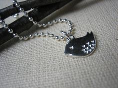 Little Bird Ball Chain Necklace  Simply Tweet by SharinAnn on Etsy, $15.00