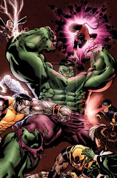 Hulk vs. X-Men