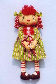 Knitting Pattern Jean Greenhowe clown poupée jouet parapluie chapeau vêtements patron 30 cm