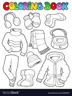 Coloring pages winter, preschool coloring pages, coloring for kids