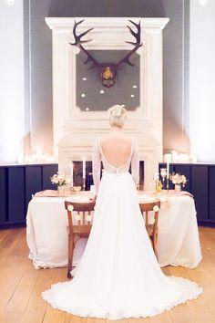 Mademoiselle de Guise | Collection 2016 Robe Louise // Photo : Lucie Pregens / Décoration : Pretty Wedding & Save the deco / Make up : Atelier Coquette / Weddingdress / Robe de mariée / Paris