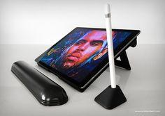 Draft Table iPad Stand