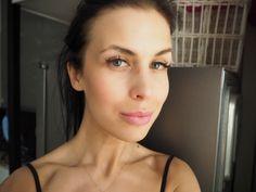 Blogger Jutta wearing Raspberry Miracle Blush Sorbet. #blush #lumene