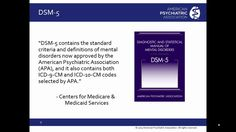 Using DSM-5 In The Transition To ICD-10
