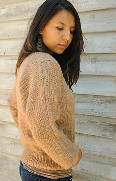 It'll probably be next winter by the time I even think of this sweater, but I like.