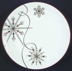 Lenox China Merry & Bright-Snowflake at Replacements, Ltd