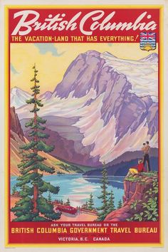 British Columbia Vacation-Land – Vintagraph Prints