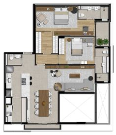 Small House Floor Plans, Simple House Plans, Bungalow House Plans, Bungalow House Design, Modern House Plans, House Floor Design, Simple House Design, Tiny House Design, Modern House Design