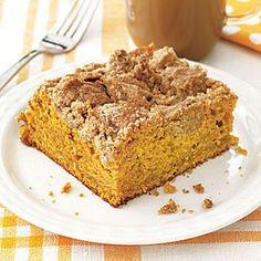 Pumpkin Crumb Coffee Cake (293 for 16)