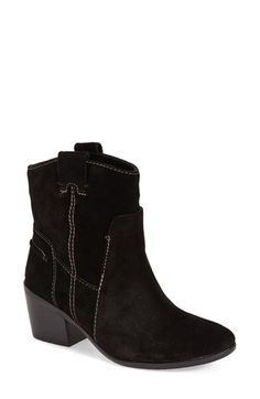 Beige suede - Vince Camuto 'Maves' Bootie (Women) (Nordstrom Exclusive) available at #Nordstrom