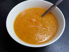 Foodie in Translation: Vellutata arancione!