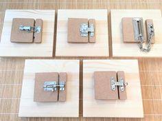 DIY Atelier Montessori : Les Serrures