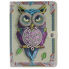 Apple iPad Pro 9.7 Case, WITCASE Stand Book Style Folio Flip PU Leather Cover Case With Card Holder and Stand Feature for Apple iPad Pro 9.7 Inch 2016 Release (Owl) >>> Want to know more, click on the image.