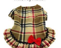 New Pet Clothes XXS Pink Puppy Dog Valentine by LittleDogFashion