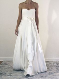 61b6a1129d034 Dream Chaser — SARAH JANKS. Crepe Wedding DressClassic ...