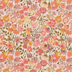 Liberty of London Tana Lawn: Kaylie Sunshine Pink (C)