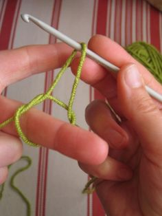 step by step how to crochet - I know all this. but she breaks it down so well I thought I'd pin for when I try to teach people!.