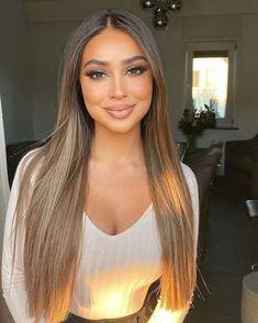 Honey Blonde Hair, Brunette Hair, Brown Hair Balayage, Hair Highlights, Full Head Highlights, Balayage Hair Caramel, Caramel Blonde, Caramel Hair, Light Brown Hair