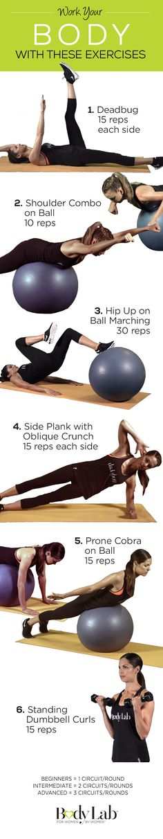 Get a full body workout with this easy and quick BodyLab exercise!