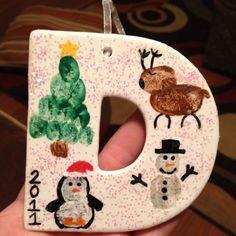 Fingerprint ornament!