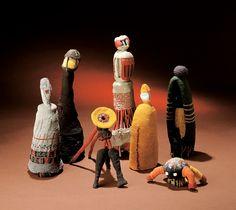 Norman Sherfield, textile sculptures, 1996-2006