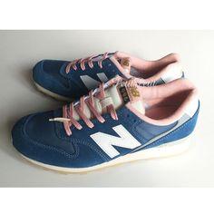 国内発送★かわいい限定☆ニューバランス WR996 ブルー×ピンク