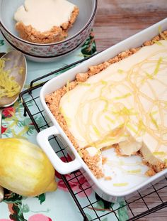 Cremora Tart… A quintessentially South African dessert that will satisfy any sweet tooth! Read Recipe by picknpay Tart Recipes, Sweets Recipes, Easy Desserts, Baking Recipes, Delicious Desserts, Yummy Food, Curry Recipes, Guava Desserts, Tasty Meals