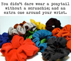 Scrunchies! 50 Awesome Things From The 90's That We All Miss
