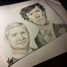 Holmes and Watson married by AkaJesse.deviantart.com on @DeviantArt