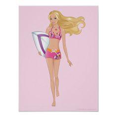 Barbie Walking Posters