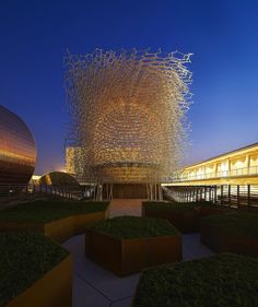 World Expo 2015: UK Pavilion�s �Virtual Beehive� by Wolfgang Buttress