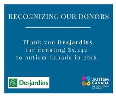 #ThankfulTuesday We appreciate your continued support and generosity @desjardins.