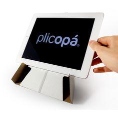 Plicopá iPad. Check Plicopá's all prototype photos! http://www.indiegogo.com/projects/plicopa