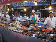 street food in Beijing, China