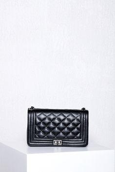 Paris At Night Leather Bag