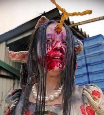 female zombie - http://johnrieber.com/2012/10/15/tokyo-gore-for-halloween-behold-j-sploitation-nishimura-rules-extreme-japanese-cinema/