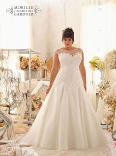 Our guide to plus-size wedding dresses: curvy brides now have more choice than ever! - 3151, Julietta by Mori Lee