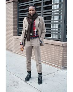 Boots with suits - the new winter menswear trend