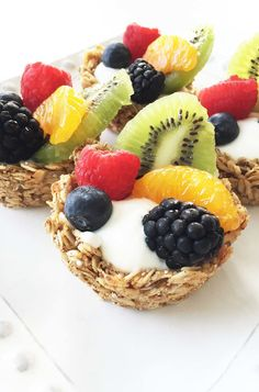 2. Granola Cups #muffin #tin #recipes http://greatist.com/eat/portable-muffin-tin-recipes