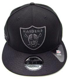 RAIDERS New Era 9FIFTY NFL Oakland Savvy Strap Strapback Cap Hat Mens OSFM   NewEra  OaklandRaiders f84478943fa