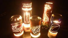 Coke Can Crafts, Tin Can Lanterns, Monster Crafts, Diy Lampe, Make A Lamp, Bottle Cutting, Aluminum Cans, Coke Cans, Dremel