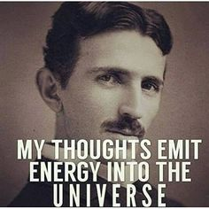 This is so perfect! Tesla was WAY ahead of his time!