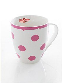 Want a collection of cath kidston mugs cos they all look beautiful and fab!!!