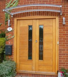 Image detail for -Arched Contemporary Door Canopy