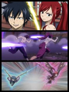 Most likely the best fighting duo in ft. You don't have to ship them, but just look at how well coordinated their attacks are, and how in Sync they are with each other. I don't think any other duo can compare...maybe because they battled so much when they were younger, they know what the other will do, and then do an attack with the other. ^.^