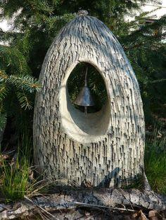 Cement, Concrete, Fake Rock, Ceramic Art, Ceramic Figures, Garden Art, Garden Ideas, Clay Crafts, Mud