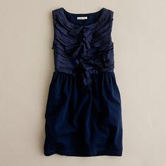 raw edged ribbon plume dress  $35!