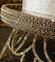 DECORATE MY WEDDING Crystal Wedding Cake Stands ANASTASIA