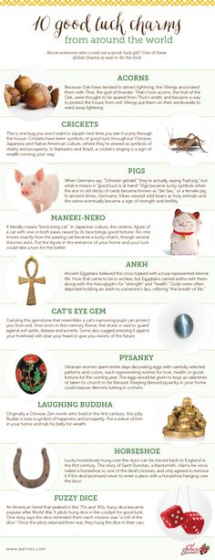 Good luck charms from around the world...#numerology #bookofshadows #bookofsecrets #magic #spells #manifesting #wiccan #witchcraft #whitemagic #magick